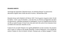 "Exposition ""Edourado Arroyo: un itinéraire français"". Discours de l'ambassadeur"