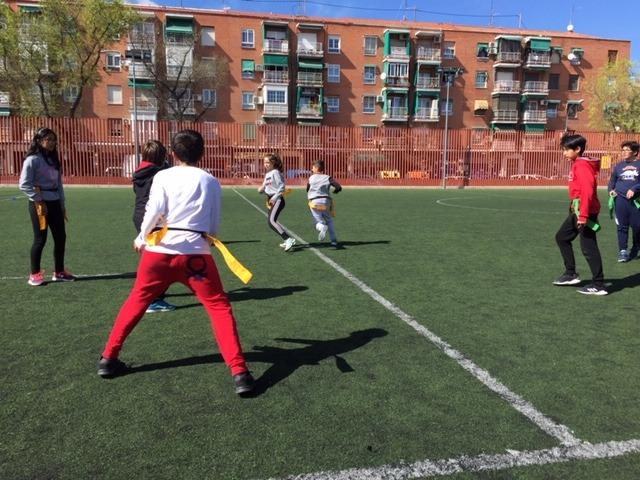 MAÑANAS ACTIVAS. Polideportivo San Vicente de Paul 1. Boxeo, Rugby, Padel y Hockey 37
