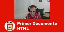 HTML - Estructura documento HTML