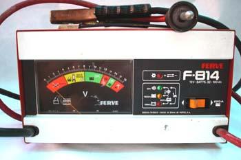 Comprobador del circuito de carga