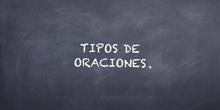 PRIMARIA - 6º - TIPOS DE ORACIONES - LENGUA - FORMACIÓN