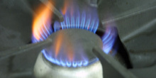 Fuego de cocina