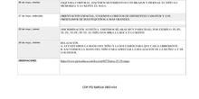 Plan de trabajo Audición y lenguaje (AZUL)