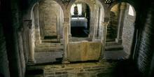 Vista general del iconostasio de la iglesia de Santa Cristina de