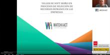 Soft Skills en procesos de selección de recursos humanos en las empresas1ªsesión