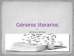 Géneros literarios 1º ESO, TEA