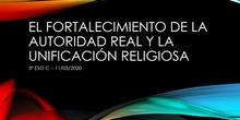 Clase de Geografía e Historia (3º ESO C - IES Las Rozas I - 11/03/2020)