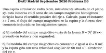 EvAU Madrid Septiembre 2020 Problema B3