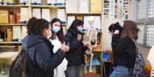 Alumnas en la semana de la ciencia