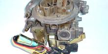 Carburador con ralentí pilotado eléctricamente