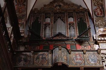 órgano de tubos de la Iglesia de Santo Domingo. Huesca