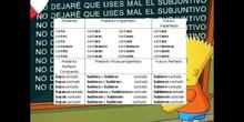 PRIMARIA - 5º - SUBJUNTIVO CONJUGACIÓN - LENGUA Y LITERATURA - FORMACIÓN