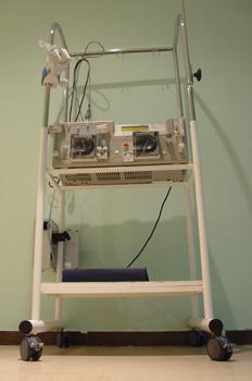 Máquina hemofiltración continua