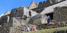 Templo del Sol. Machu Pichu, Perú