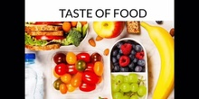 INFANTIL - 4 AÑOS - TASTE OF FOOD - INGLÉS - FORMACIÓN