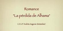 "Romance ""La pérdida de Alhama"". Alumos de 5ºB"