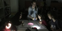 PRIMARIA - 5º - SHADOWS EXPERIMENT - NATURAL SCIENCE - ACTIVIDAD