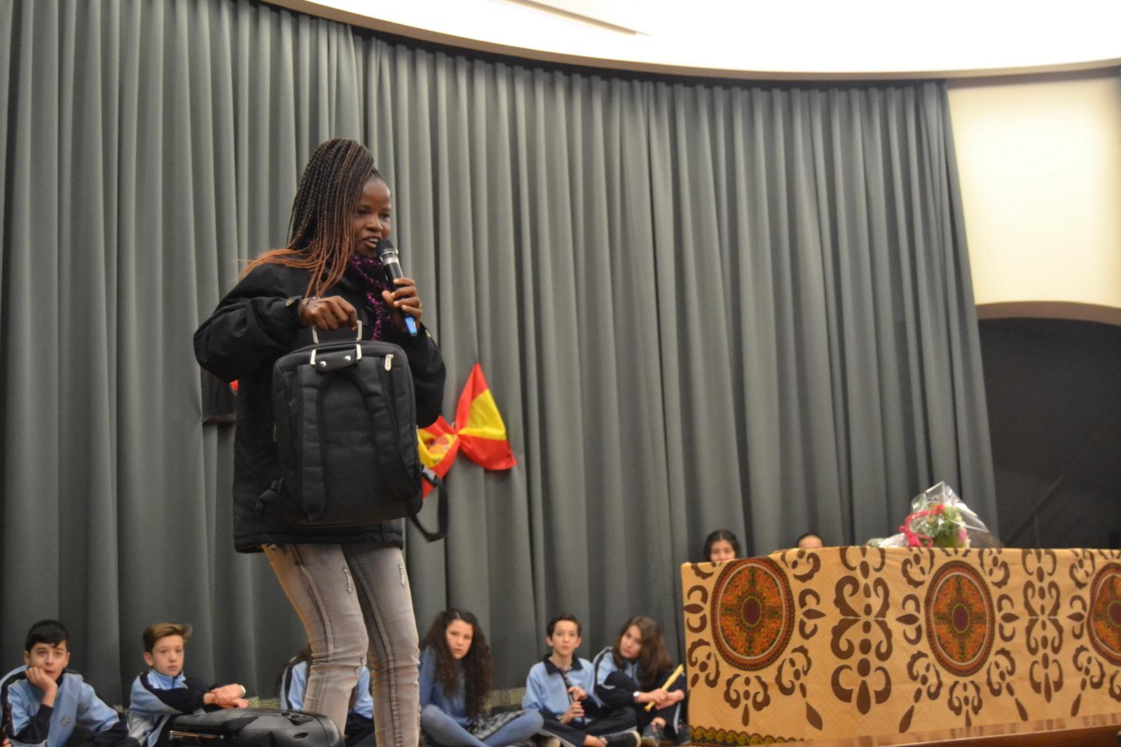 Bienvenida a Susan (profesora de Angola) 33