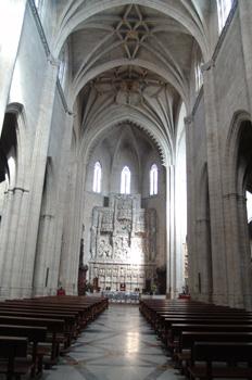 Nave central, Catedral de Huesca