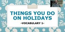 Unit 6: Vocabulary: Irregular Verbs