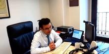 Programa formativo CERN - Entrevista radio a Ismael Sanz (2)