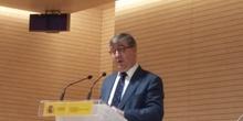 El Secretario de Estado Excmo. Sr. D. Marcial Marín Hellín