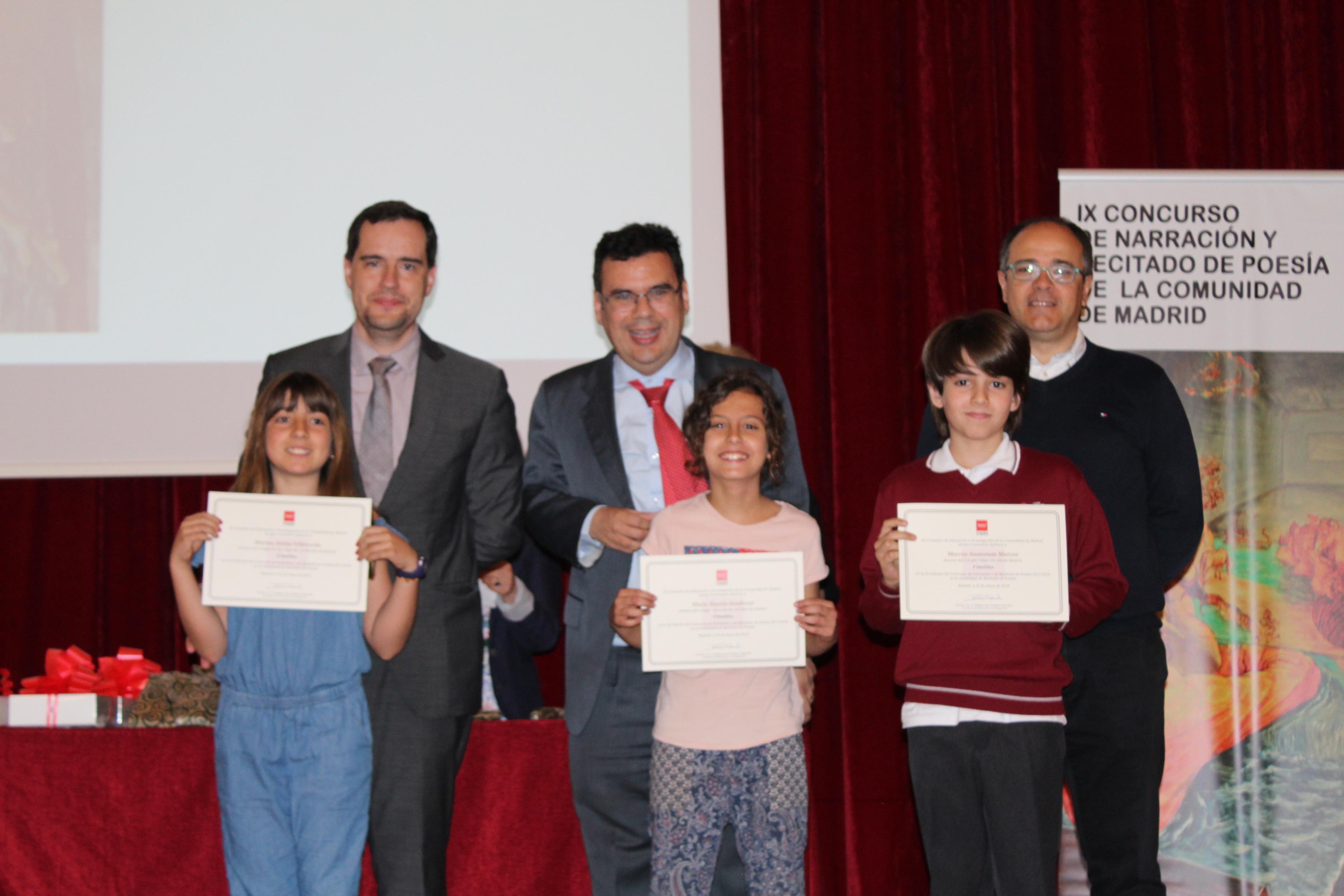 Entrega de los premios del IX Concurso de Narración y Recitado de Poesía 24