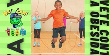 Baile día mundial de obesidad infantil