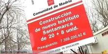 Arranca la construcción del IES 'Santamarca', en el solar donde se ubicaba el antiguo
