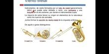 PRIMARIA - 4º - INSTRUMENTOS DE VIENTO METAL - MÚSICA - FORMACIÓN