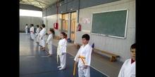 Exhibición Karate - 4º Primaria