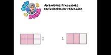 PRIMARIA - 6º - FRACCIONES EQUIVALENTES POR REDUCCIÓN - MATEMÁTICAS- FORMACIÓN