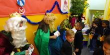 Visita de los Reyes Magos 1. Curso 19-20 2