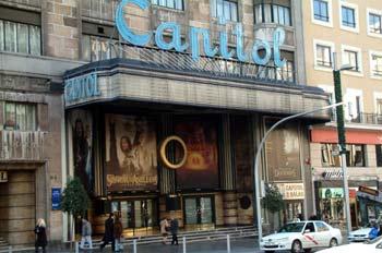 Cines Capitol en Gran Vía, Madrid