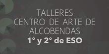 SECUNDARIA. PLÁSTICA.1º y 2º ESO. TALLERES CENTRO DE ARTE DE ALCOBENDAS. ACTIVIDADES