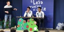 Jugadores del CD Leganés visitan el cole 9
