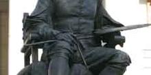 Estatua de Veláquez en el Paseo del Prado, Madrid