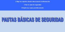 PAUTAS BÁSICA DE SEGURIDAD