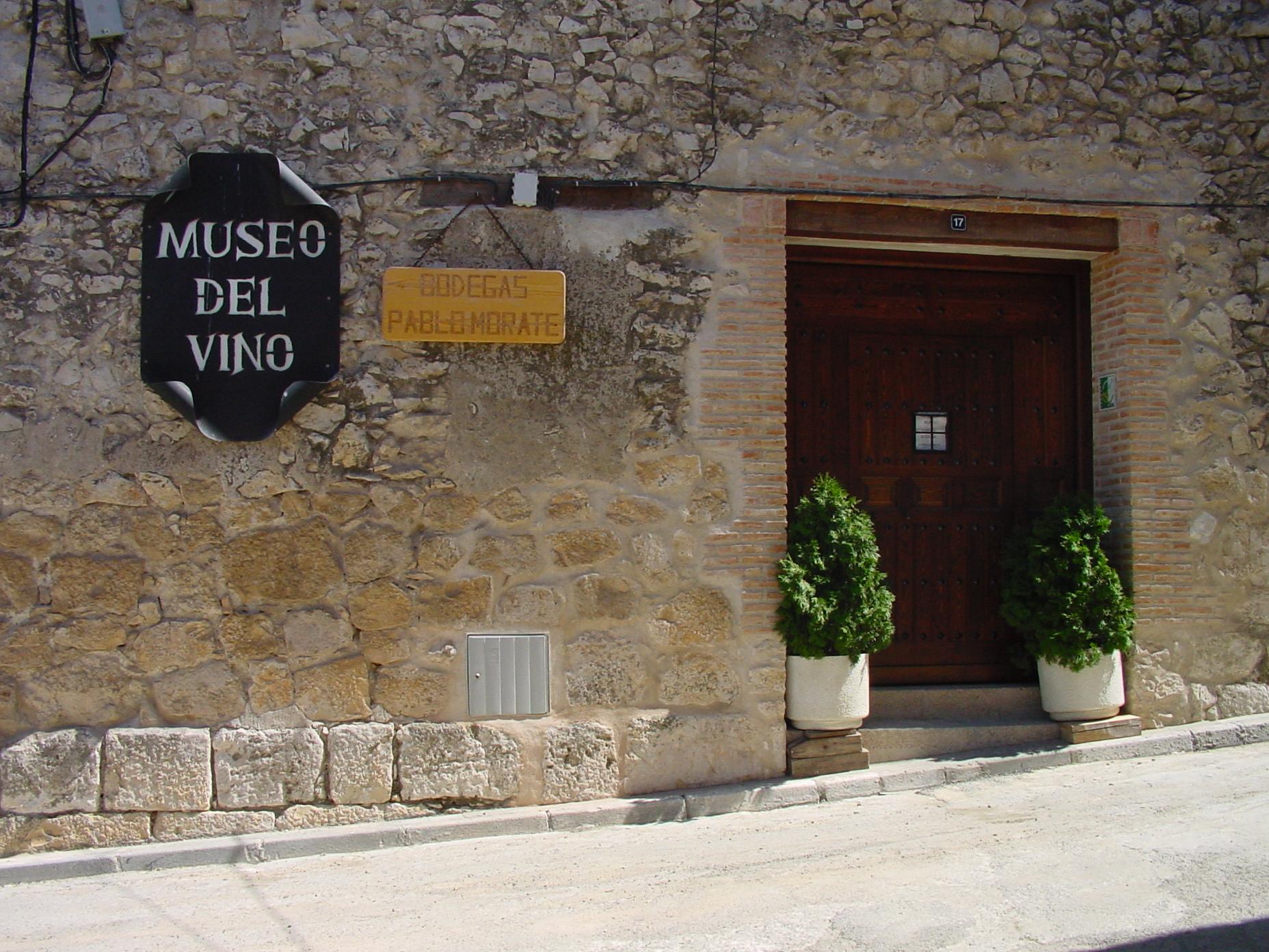 Museo del vino en Valdelaguna