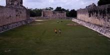 Campo del Juego maya de Pelota, Chichén Itzá, México