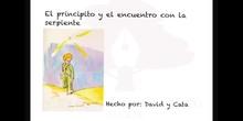 SECUNDARIA 1º - EL PRINCIPITO SE ENCUENTRA CON LA SERPIENTE
