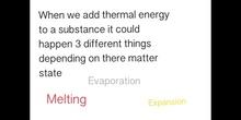 PRIMARIA - 5º - HEAT EFFECTS - NATURAL SCIENCE