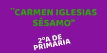 Carmen Iglesias Sésamo 2ºA
