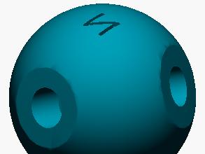 Modelo atómico de Nitrógeno