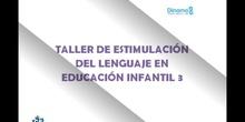 Taller estimulación del lenguaje infantil 3
