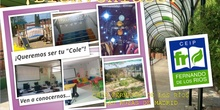 Jornada Puertas Abiertas 2021_Presentación del Centro_CEIP FDLR_Las Rozas