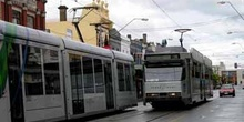 Tranvías en Melbourne, Australia