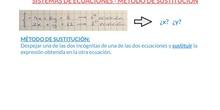 SECUNDARIA - 2º, 3º ESO - SISTEMAS DE ECUACIONES SUSTITUCIÓN - MATEMÁTICAS - FORMACIÓN
