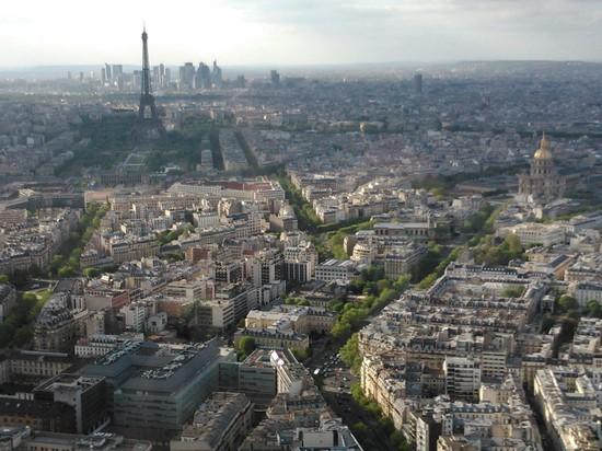 Paris vue aérienne