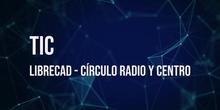 LibreCAD 03: Círculo con centro y radio